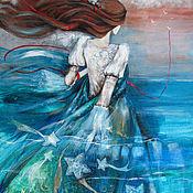 Картины и панно ручной работы. Ярмарка Мастеров - ручная работа Та, которой снится море.... Handmade.
