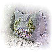 Сумки и аксессуары handmade. Livemaster - original item Bag handmade Bag embroidered Spring handbag shoulder bag.. Handmade.