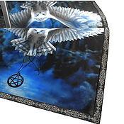 handmade. Livemaster - original item Table cloth for divination 52h52 cm. OWL. Handmade.
