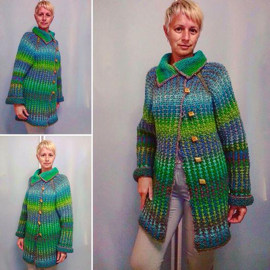 Пиджаки, жакеты ручной работы. Ярмарка Мастеров - ручная работа. Купить Жакет ручной работы из Дундаги. Handmade. Вязание на заказ