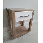 Для дома и интерьера handmade. Livemaster - original item Oak bedside table from the massif