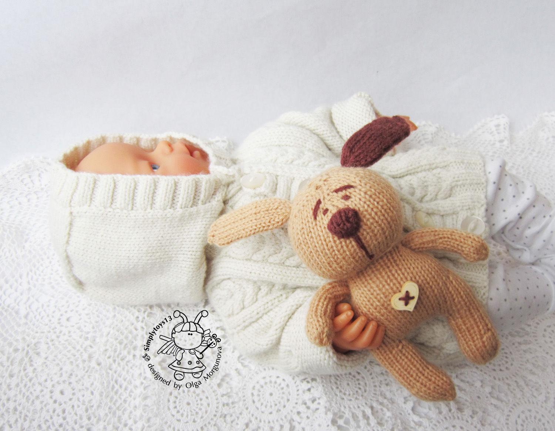 Игрушка для сна ребенка своими руками крючком 3