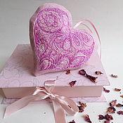 Сувениры и подарки ручной работы. Ярмарка Мастеров - ручная работа Саше с розой. Handmade.
