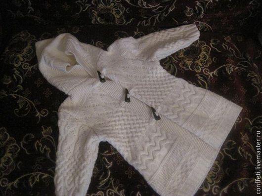 Одежда для девочек, ручной работы. Ярмарка Мастеров - ручная работа. Купить Пальто для девочки. Handmade. Белый, пальто для девочки
