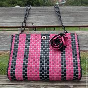 Сумки и аксессуары handmade. Livemaster - original item Leather bag brooch