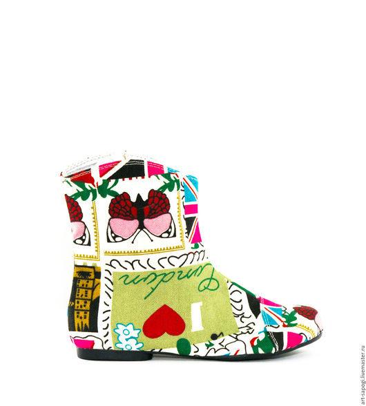 Обувь ручной работы. Ярмарка Мастеров - ручная работа. Купить Летние полусапоги 3-158 (ВЧ). Handmade. сделано с любовью