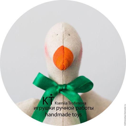 Куклы Тильды ручной работы. Ярмарка Мастеров - ручная работа. Купить Текстильная игрушка Уточка тильда ручной работы. Handmade.