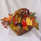"""Цветы и флористика ручной работы. Ярмарка Мастеров - ручная работа Букет из конфет """"Осенний лес"""". Handmade."""