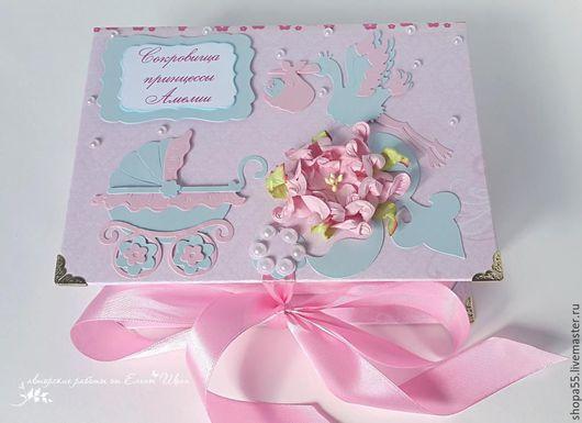 """Подарки для новорожденных, ручной работы. Ярмарка Мастеров - ручная работа. Купить Мамины сокровища """"Мятно-розовое счастье"""" Мамины сокровища для девочки. Handmade."""