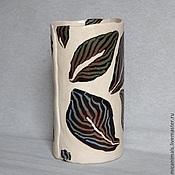 Для дома и интерьера ручной работы. Ярмарка Мастеров - ручная работа Ваза для цветов. Handmade.