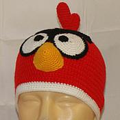 """Работы для детей, ручной работы. Ярмарка Мастеров - ручная работа Шапка """"Angry birds"""". Handmade."""