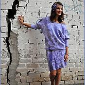 Платья ручной работы. Ярмарка Мастеров - ручная работа Платье Лаванда. Handmade.