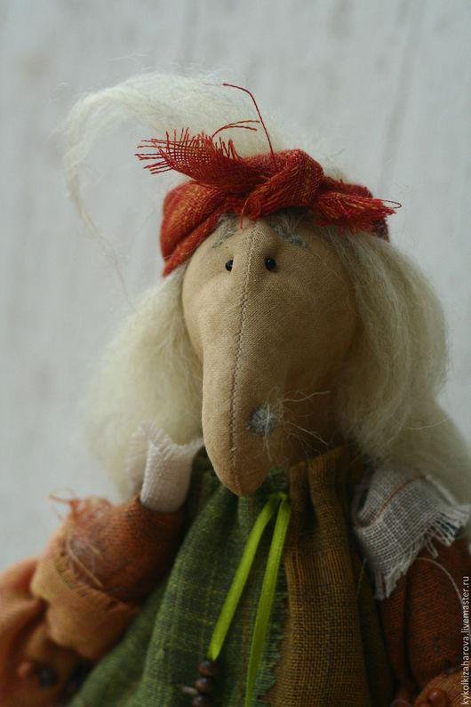 """Куклы и игрушки ручной работы. Ярмарка Мастеров - ручная работа. Купить Баба Яга лесная по мотивам """"Морозко"""". Handmade. Комбинированный"""