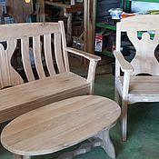 Дача и сад handmade. Livemaster - original item a set of garden furniture. Handmade.