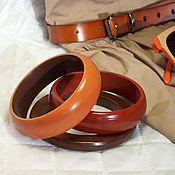 Украшения handmade. Livemaster - original item Bracelets jewelry set-wood Casual jewelry. Handmade.