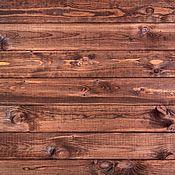 Фотофоны ручной работы. Ярмарка Мастеров - ручная работа Фотофоны: Виниловый фон 50х50 Деревянный, Коричневый. Handmade.