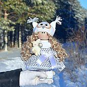 Куклы Тильда ручной работы. Ярмарка Мастеров - ручная работа Куклы Тильда: Совушка. Handmade.