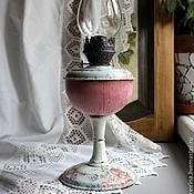 """Для дома и интерьера ручной работы. Ярмарка Мастеров - ручная работа Керосиновая лампа """"В ситце"""". Handmade."""