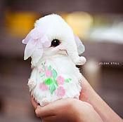 Куклы и игрушки ручной работы. Ярмарка Мастеров - ручная работа Цветочный слоник Рози. Handmade.