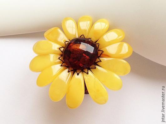 Кольца ручной работы. Ярмарка Мастеров - ручная работа. Купить КОЛЬЦО-3 (янтарь). Handmade. Разноцветный, кольцо, модный аксессуар