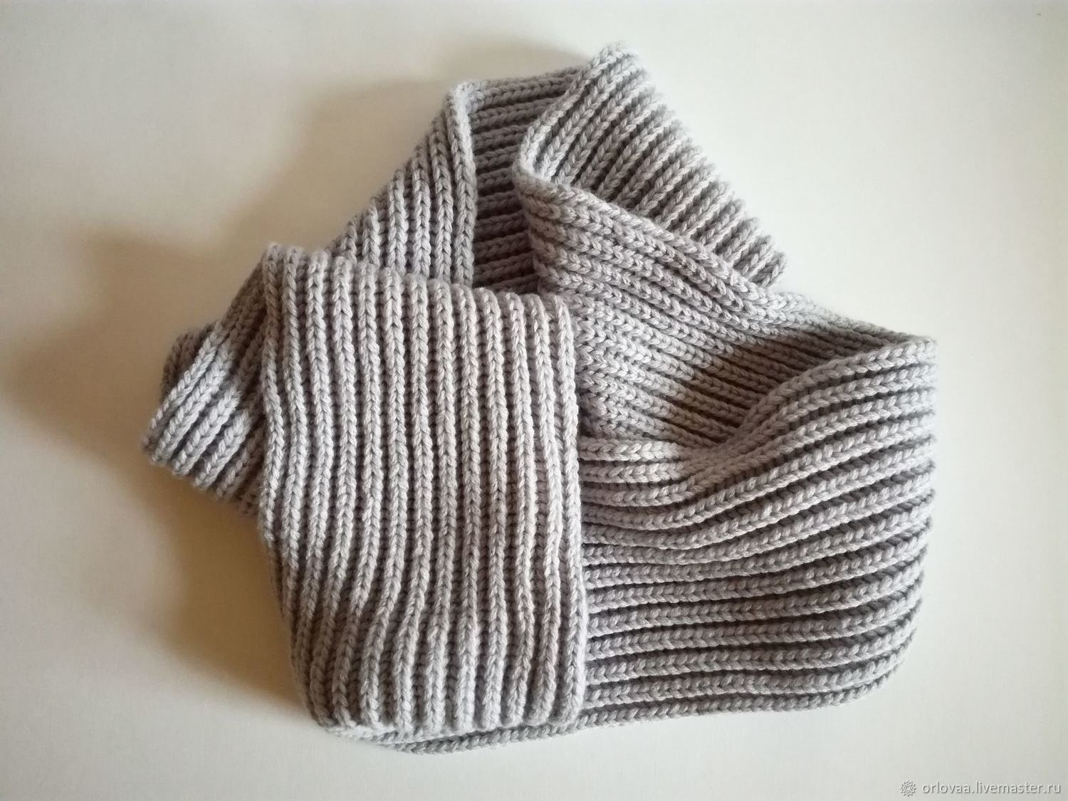 Knitted Snood in a few turns, Scarves, Moscow,  Фото №1