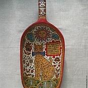 Русский стиль handmade. Livemaster - original item Vintage scoop