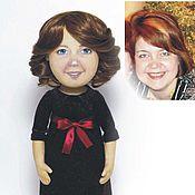 Куклы и игрушки ручной работы. Ярмарка Мастеров - ручная работа Кукла с портретным сходством, Вера. Handmade.