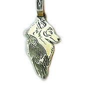 Русский стиль handmade. Livemaster - original item Wolf and Raven. Handmade.