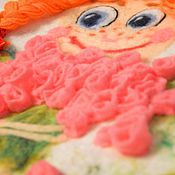 """Работы для детей, ручной работы. Ярмарка Мастеров - ручная работа Платье детское валяное """" Маруся и миллион роз"""". Handmade."""