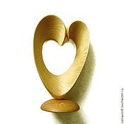"""Для дома и интерьера ручной работы. Ярмарка Мастеров - ручная работа Скульптура """" Золотые волны любви """". Handmade."""
