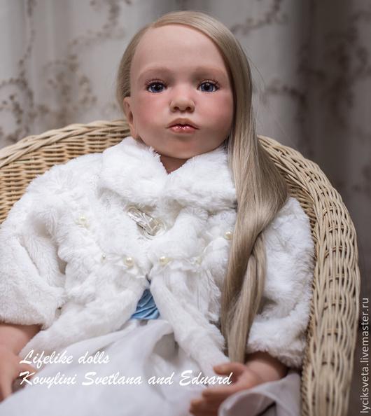 Куклы-младенцы и reborn ручной работы. Ярмарка Мастеров - ручная работа. Купить Ассоль- девочка мечта!. Handmade. Бежевый, синтепух
