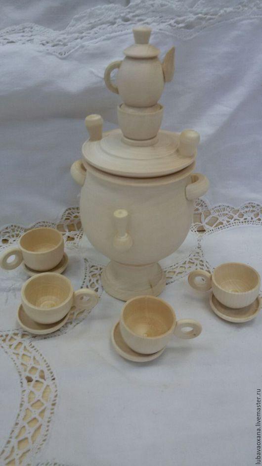 Декупаж и роспись ручной работы. Ярмарка Мастеров - ручная работа. Купить А самовар кипит, чаек заваренный......... Handmade. Белый