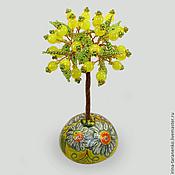 Цветы и флористика handmade. Livemaster - original item The tree of the opal