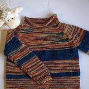 """Работы для детей, ручной работы. Ярмарка Мастеров - ручная работа Детский свитер """"Полоски"""". Handmade."""
