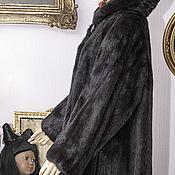 Одежда ручной работы. Ярмарка Мастеров - ручная работа Черная норка.короткая шубка, 48-50размер. Handmade.