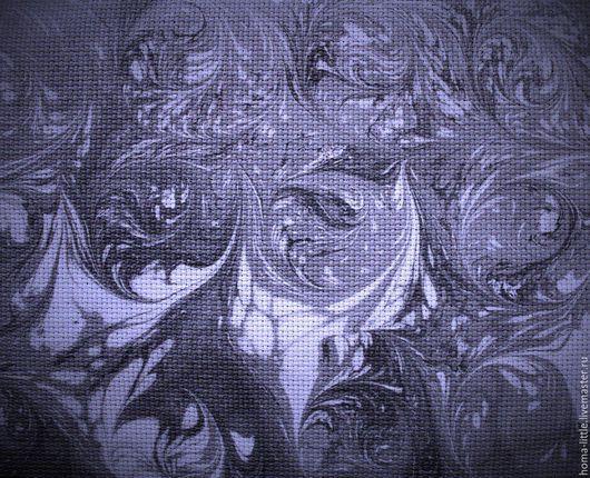 Фэнтези ручной работы. Ярмарка Мастеров - ручная работа. Купить Канва для вышивания Эбру. Handmade. Канва с рисунком, эбру