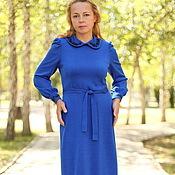 """Одежда ручной работы. Ярмарка Мастеров - ручная работа Теплое платье """"Ретро"""". Handmade."""