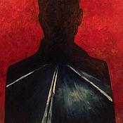 Картины и панно ручной работы. Ярмарка Мастеров - ручная работа Картина Настоящий детектив. Handmade.