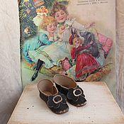 Куклы и игрушки ручной работы. Ярмарка Мастеров - ручная работа Туфли 6.8 см для антик.Fashion Doll. Handmade.
