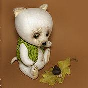 Куклы и игрушки ручной работы. Ярмарка Мастеров - ручная работа Другой... (Белый Волчонок). Handmade.