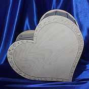"""Свадебный салон ручной работы. Ярмарка Мастеров - ручная работа Шкатулка """"Сердце"""". Handmade."""