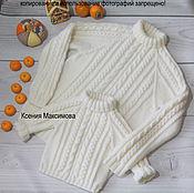 Одежда ручной работы. Ярмарка Мастеров - ручная работа свитер Великолепный family look. Handmade.
