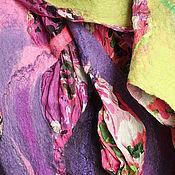 """Аксессуары ручной работы. Ярмарка Мастеров - ручная работа палантин """"Весна"""". Handmade."""