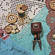 """Украшения ручной работы. Ярмарка Мастеров - ручная работа Валяная брошь """"Ретро-фотокамера"""". Handmade."""
