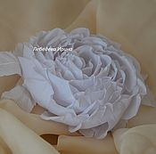 Свадебный салон ручной работы. Ярмарка Мастеров - ручная работа Роза Белоснежка. Handmade.