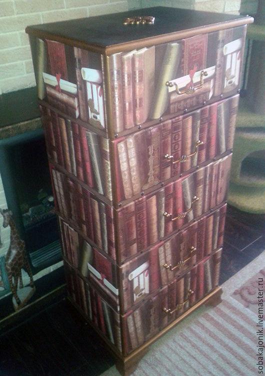 """Мебель ручной работы. Ярмарка Мастеров - ручная работа. Купить Комод """"Librorum"""". Handmade. Комбинированный, пучкова юлия"""