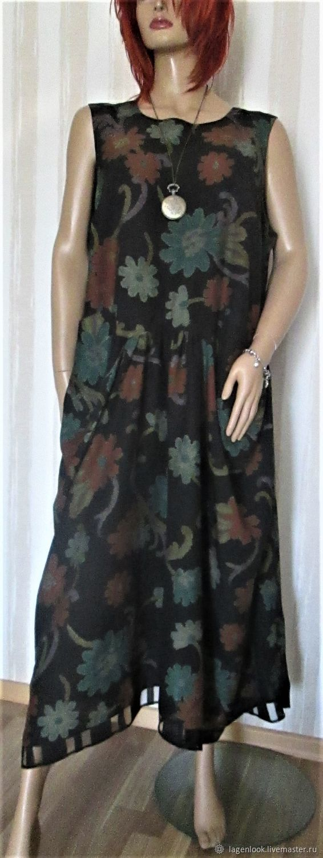 dresses: Long dress made of natural silk, Dresses, Tallinn,  Фото №1