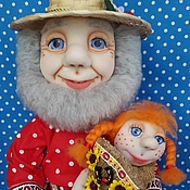Куклы и игрушки ручной работы. Ярмарка Мастеров - ручная работа Домовой.Хранитель домашнего очага.. Handmade.