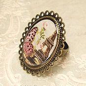 """Украшения ручной работы. Ярмарка Мастеров - ручная работа Перстень """"Reves de Paris"""" (R001PA). Handmade."""