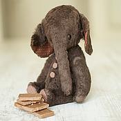 """Куклы и игрушки ручной работы. Ярмарка Мастеров - ручная работа Слоник """"Choko""""  24 см. Handmade."""